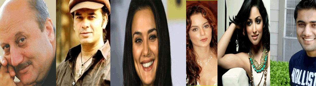Bollywood Personalities