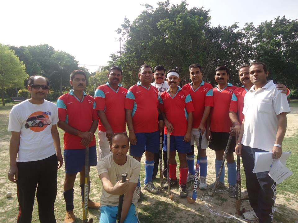6*6 hockey match