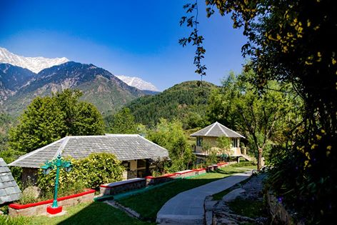 best resorts in dharamshala