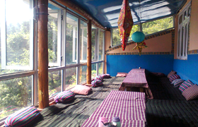 Radhakrishna cafe in Dharmkot