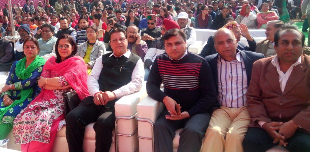 Shri Satyapal ji at HKS