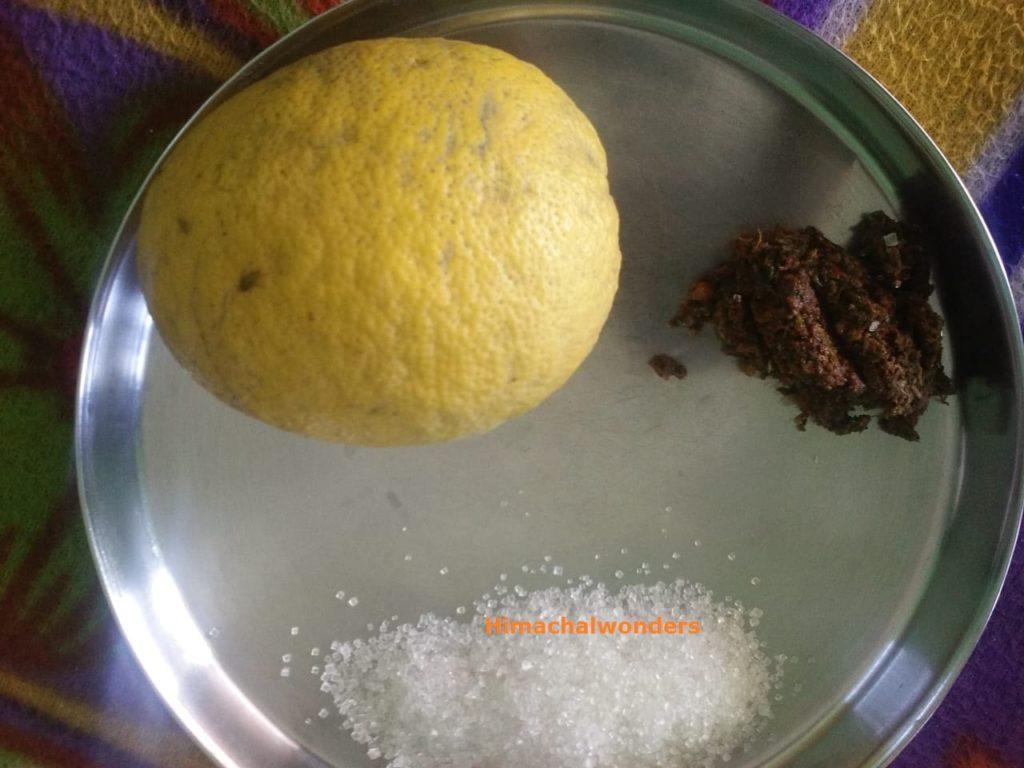 himachali khatta fruit